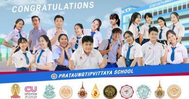 ยินดีด้วยกับนักเรียนทุกคนชาวฟ้าแดง Congratulations น๊าาาา